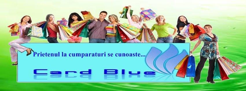 Card Blue